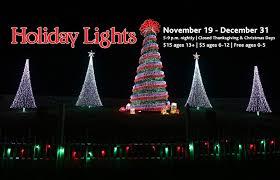 Garvan Gardens Christmas Lights Holiday Lights At Garvan Woodland Gardens In Springs Ar