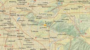 Usgs Earthquake Map California Magnitude 3 1 Earthquake Strikes Near Rowland Heights Usgs Ktla