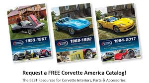 corvette america parts place your order from corvette america and take delivery at