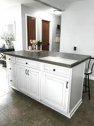 how to make a kitchen island using cabinets diy kitchen island with stock cabinets building a kitchen