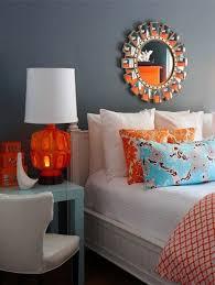 bedroom blue walls bedroom orange interior paint nice room