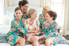 and bridesmaid robes teal bridesmaids robe sets kimono crossover robe bridesmaids