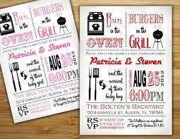 bbq baby shower ideas baby shower bbq invitations plumegiant