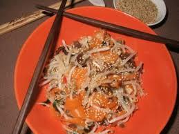 cuisiner les germes de soja salade vietnamienne aux germes de soja recette ptitchef