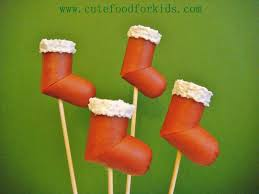 cute food for kids dog stocking