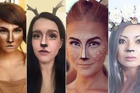 Deer Antlers Halloween Costume 16 Deer Makeup Antler Ideas Cutest Halloween Costume