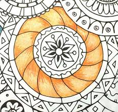 hues of orange adult coloring book shading techniques tips and tricks leisure