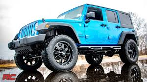 jeep lifted 6 inches 2007 2016 jeep wrangler unlimited 4 inch suspension lift kit by