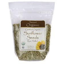 raw organic sunflower seeds 16 oz bag swanson health products
