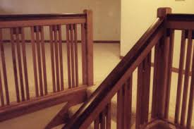 17 craftsman railing designs craftsman staircase with high
