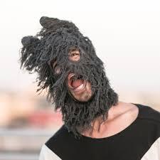 goat head halloween mask pandito balaclava halloween panda mask for men and women