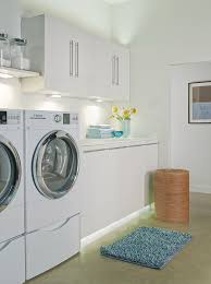 laundry room lighting options brighten up even the toughest spaces with under cabinet lighting