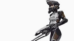 photo collection 3d woman robot wallpaper
