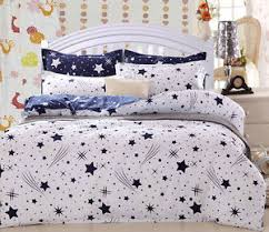 Duvet Cover Stars White And Navy Star Duvet Cover With Pillow Case Quilt Cover