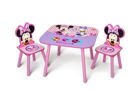 Kids Computer Desk And Chair Set by Amazon Com Delta Children Table U0026 Chair Set Disney Minnie Mouse