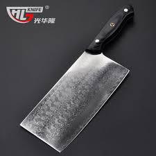 couteau de cuisine chinois japonais cuisine couperet chinois couteau de chef 7 2 pouces vintage