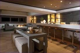 Rustic Bar Cabinet Kitchen Room Marvelous Rustic Basement Finishing Ideas L Shaped