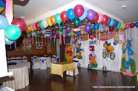 plain birthday decoration at home images almost newest article