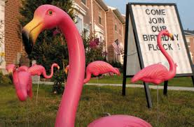 donald featherstone creator of the pink plastic lawn flamingo dies