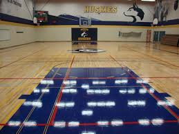 game court markings painting redecorating services from ahf
