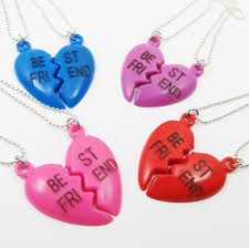 best friend heart necklace images 2 kitschy bff necklace best friends forever d2g1 4 jpg