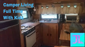 family of five living in a camper full time youtube