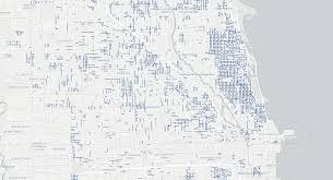 Rush Street Chicago Map by Chicago Residential Parking Zones Map Chicago Tribune