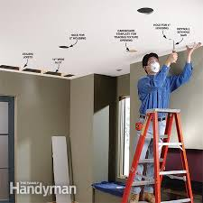 Recessed Lighting How To Install Recessed Lighting In Existing Easy