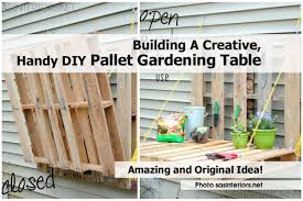 Gardening Table Gardening Table Diy Home Outdoor Decoration