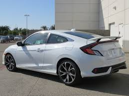 2017 new honda civic coupe si manual at honda north serving fresno