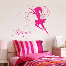 wall stickers personalized wall stickers shop wall art com fairy name wall sticker