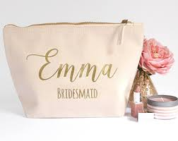 personalized bridesmaid gifts rustic ivory pearl bridesmaid gift bag by hanmadedesignsuk