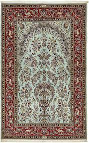Kashan Persian Rugs by Light Blue 4 U0027 7 X 7 U0027 4 Kashan Persian Rug Persian Rugs Rugs Ca