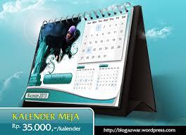 desain kalender meja keren kalender meja www blogazwar wordpress com