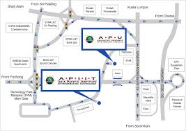 Euro Asia Park Floor Plan Maps And Directions Asia Pacific University Apu