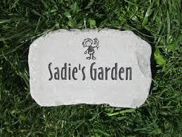 personalized garden stones personalized garden stones custom engraved garden by