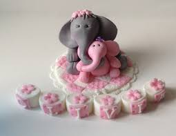 cake toppers for baby showers elephant baby shower cake topper safari nursery pink and grey gray