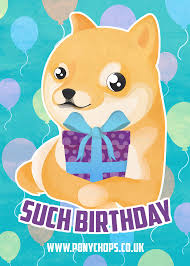 Meme Birthday Card - doge birthday card gangcraft net