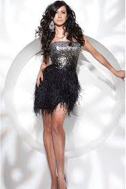 cocktail dresses with feathers prom dresses cheap