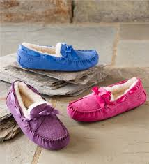 ugg slipper sale dakota ugg australia dakota scales moccasin shoes plow hearth