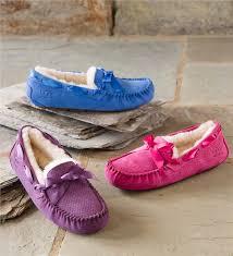 ugg s dakota moccasins sale ugg australia dakota scales moccasin shoes plow hearth