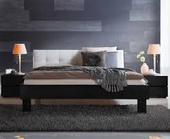 Schlafzimmer Komplett H Sta Massivholzbett Aus Eiche Mit Weißem Kopfteil Faro Betten De