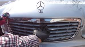 mercedes light replacement how to replace low high beam headlight bulbs w220 s430 s500 cl500