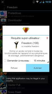 apk freedom comment installer et utiliser freedom apk root