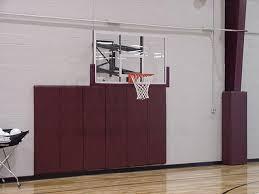 Adjustable Basketball Hoop Wall Mount Amazon Com Goalsetter Wall Mounted Height Adjustable Basketball