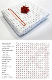 word search wrapping paper 12 creative wrapping papers wrapping papers wrapping oddee
