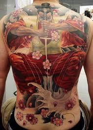tattoo back japanese 35 samurai back tattoos