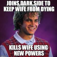 Meme Knowledge - he had such a knowledge of the dark side that he could even keep