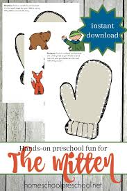 jan brett u0027s the mitten printable and hands on fun