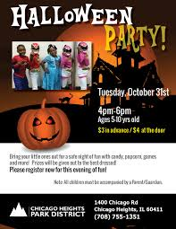 halloween party 2017 halloween party 2017 u2039 chicago heights park district